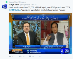 Dunya TV - Chaudhry Pervaiz Elahi Refreshes Nation's Memory in Interview