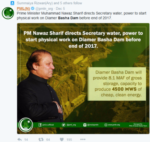 pmln-supporters-vote-for-bhasha-dam