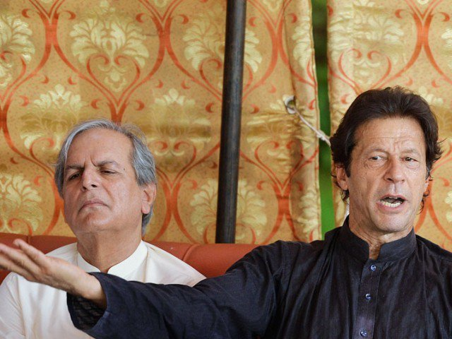Hashmi says Imran conspired with 'disgruntled elements in the army' during 2014 sit-in