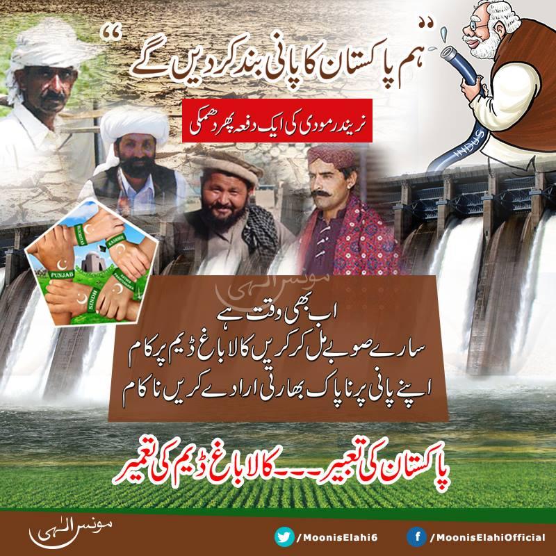 Kalabagh Dam is Top Priority-Moonis Elahi